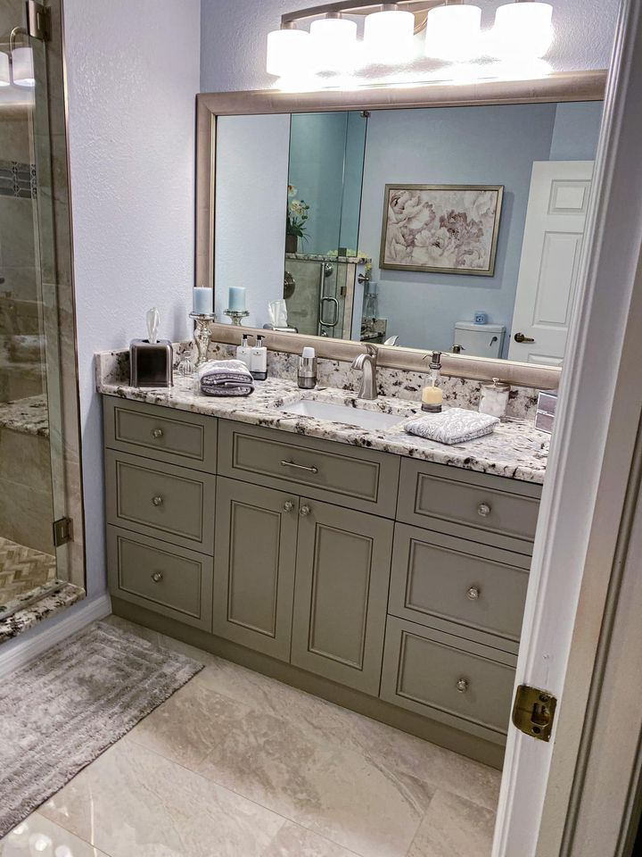 Bathroom Remodel in Fort Myers, FL by Trinity Builders of ...
