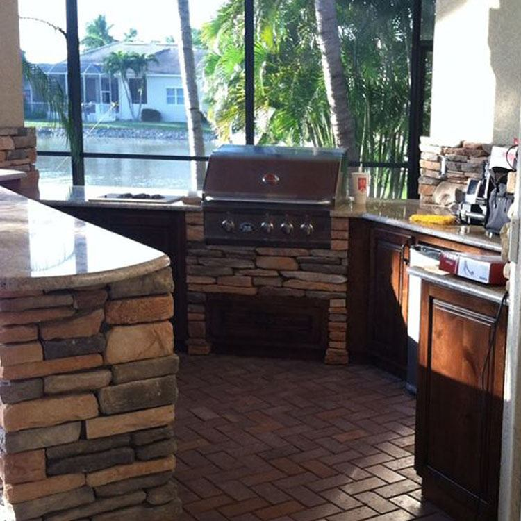 Fort myers outdoor kitchen unique builds
